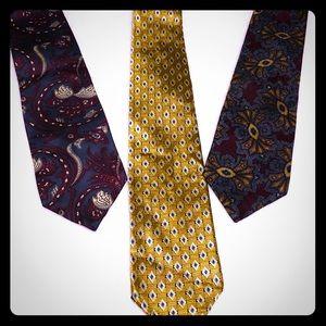 3 Men's Ties